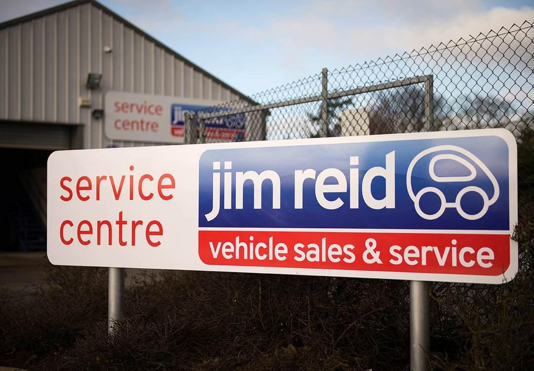 Jim Reid Signage
